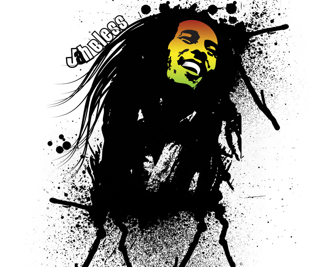 Bob Marley Cartoon